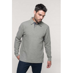 Kariban French Rib - Ribbed polo shirt
