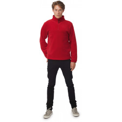 B&C Highlander+ Zip Neck Fleece Jacket