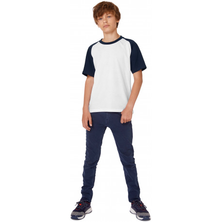 B&C Kids´ Base-ball T-shirt