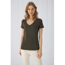 B&C Ladies´ Organic Cotton V-neck T-shirt