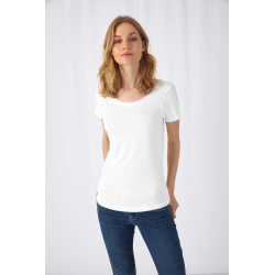 B&C Ladies´ Organic Slub Cotton Inspire T-shirt