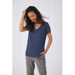 B&C Ladies´ TriBlend V-neck T-shirt
