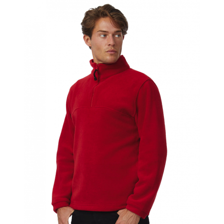 B&C Highlander+ 1/4 Zip Fleece Top