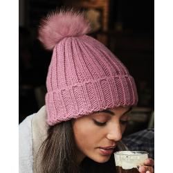 Bonnet Chunky Pop Pom Verbier - Kameleon Textile   Impression et ... 66cee47175c