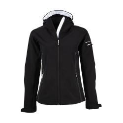 Tee Jays Ladies Hooded Fashion Softshell Jacket