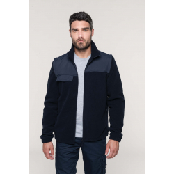 Kariban Fleece jacket with removable sleeves