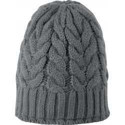 K-up Cable knit beanie