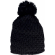 K-up Bobble beanie in thick knit