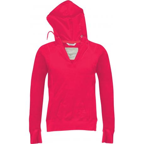 Kariban Ladies´ long-sleeved hooded T-shirt