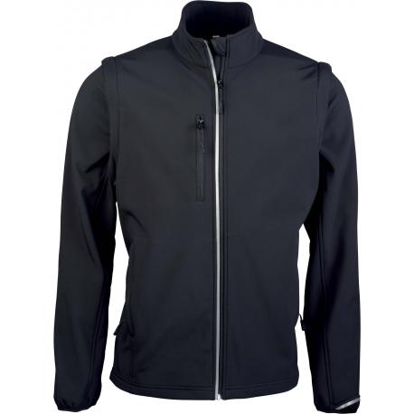 Proact UNISEX detachable sleeves softshell jacket