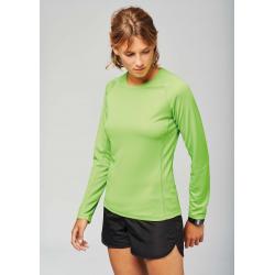 Proact Ladies´ long-sleeved sports T-shirt