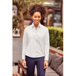 Russell Ladies´ Long-Sleeved Polycotton Poplin Shirt