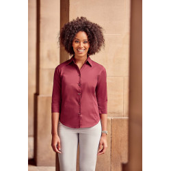 Russell Ladies´ 3/4 Sleeved Fitted Shirt
