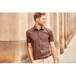 Russell Men´s Short-Sleeved Fitted Shirt