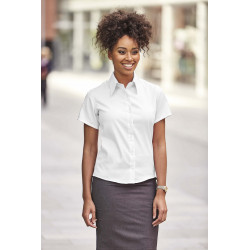 Russell Ladies´ Short-Sleeved Non-Iron Shirt