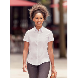 Russell Ladies´ Short-Sleeved Ultimate Stretch Shirt