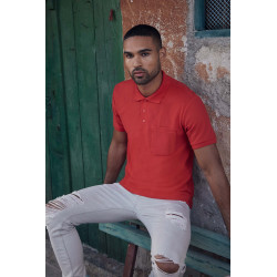 Fruit of the Loom 65/35 pocket polo shirt