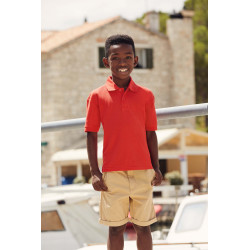 Fruit of the Loom 65/35 Kids´ polo shirt