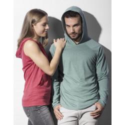 Nakedshirt Cecilia Women´s Sleeveless Hooded T-Shirt