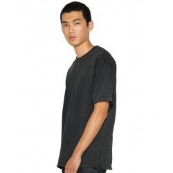 American Apparel Unisex French Terry Garment Dyed T-Shirt