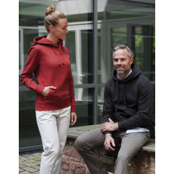Russell Men´s Authentic Melange Hooded Sweat